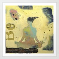 Be2 Art Print