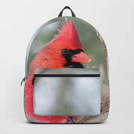 Winter's End Cardinal Backpack