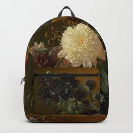 "George Jacobus Johannes van Os ""Still life"" Backpack"