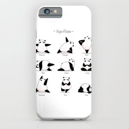 Yoga Panda II iPhone Case