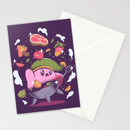 Let's Cooking Stationery Cards