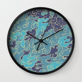 Abstract Nature 10 Wall Clock