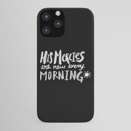 Mercy Morning II iPhone Case