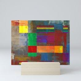 Mid-Century Modern Art - Rainbow Pride 2.0 Mini Art Print