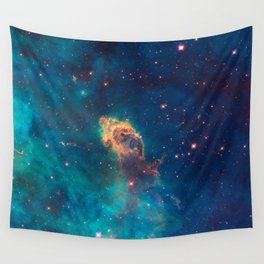 Space Nebula, A View of Astronomy, Stars, Galaxy, and Outer space  Wall Tapestry
