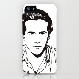 In Black & White II iPhone Case