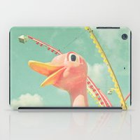 ostrich iPad Cases featuring Ostrich by Cassia Beck