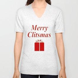Merry Unisex V-Neck