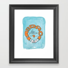 Embrace the Design Process Framed Art Print