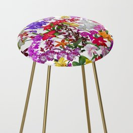 A celebration of orchids Counter Stool