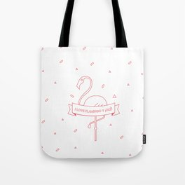 i love flamingo y ¡olé! Tote Bag