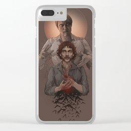 Hannibal - Halloween Clear iPhone Case