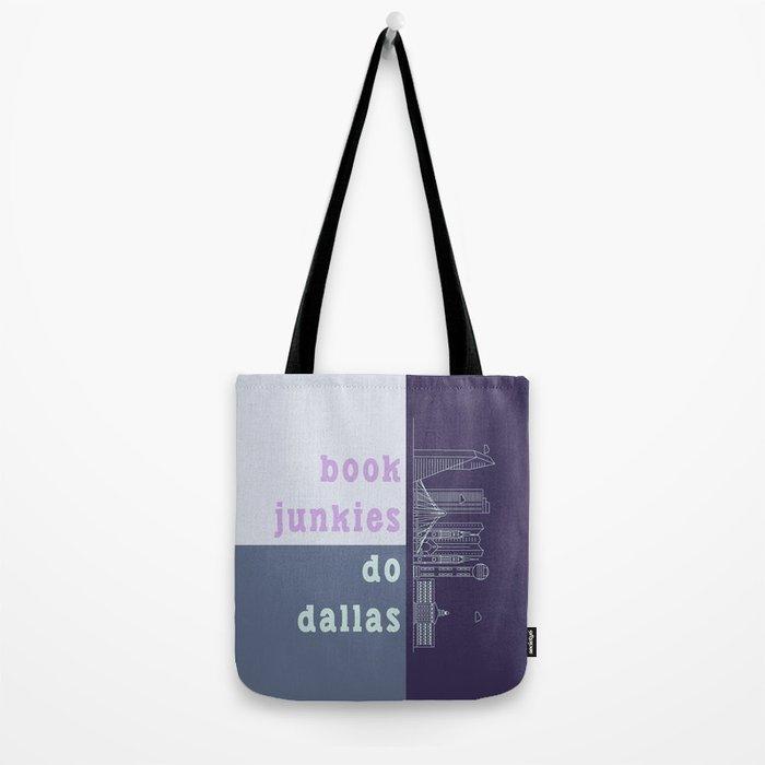 Book Junkies do Dallas Tote Bag