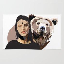 Artio - Bear Goddess Rug