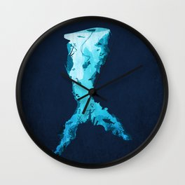 Riches Under the Sea Wall Clock