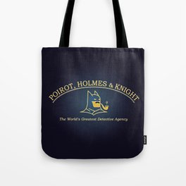 Great Detectives Tote Bag