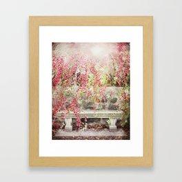 Ruby Flare Framed Art Print