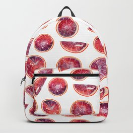 Blood Oranges- White Backpack