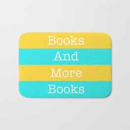 Books and More Books Bath Mat