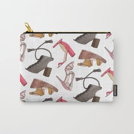 Sandal Pattern Carry-All Pouch