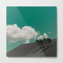 Cloudwork Metal Print