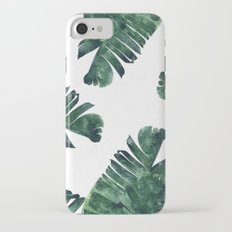 Banana Leaf Watercolor Pattern #society6 iPhone 7 Slim Case