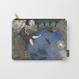 The Fish Pond Carry-All Pouch