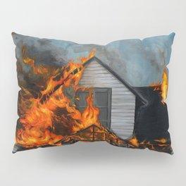 House on Fire Pillow Sham