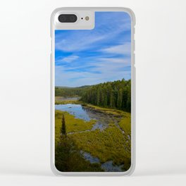 Beaver Dam Lookout Clear iPhone Case