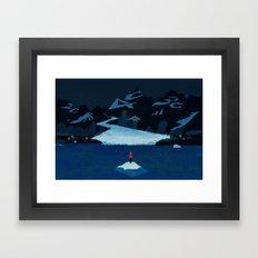 Climate Change Framed Art Print