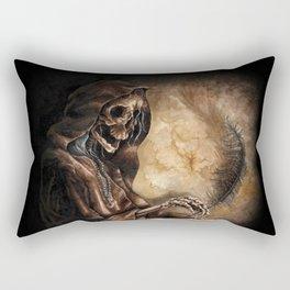 Skeleton Scribe Rectangular Pillow