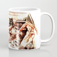 silent hill Mugs featuring Silent Hill by Joseph Silver
