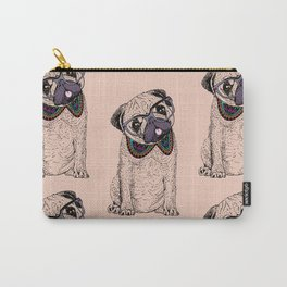 Hipster Pug Carry-All Pouch