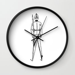 Calls To Compass Wall Clock