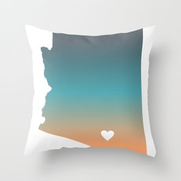 Arizona - Tucson Throw Pillow
