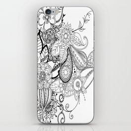 DOODLE MANIA iPhone Skin