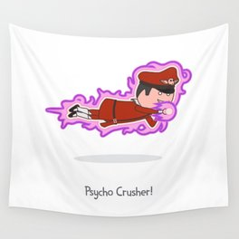 Psycho Crusher Wall Tapestry
