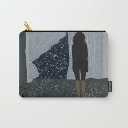 the girl at the window Carry-All Pouch