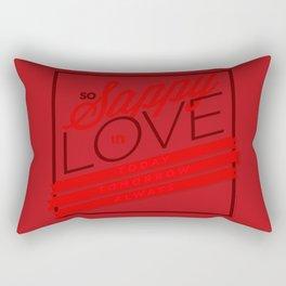 Sappy in Love Rectangular Pillow