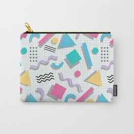 Memphis Shapes Carry-All Pouch