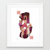 math Framed Art Prints featuring Math by DnMnY