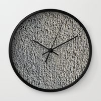 gray Wall Clocks featuring GRAY by Manuel Estrela 113 Art Miami