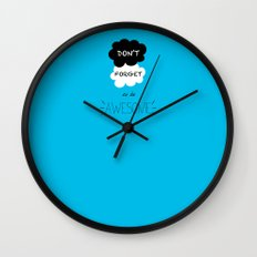 DFTBA TFIOS Nerdfighter Vlogbrothers Don't Forget to be Awesome, The Fault in Our Stars, John Green Wall Clock
