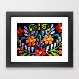 Mexican Flowers Framed Art Print