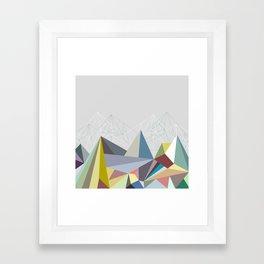 Colorflash 1 Framed Art Print