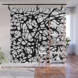 black curves Wall Mural
