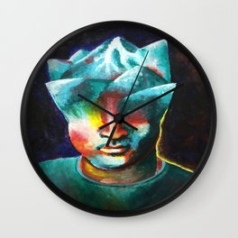 Mountains On My Mind Wall Clock