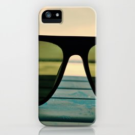 Chillax the Glass iPhone Case