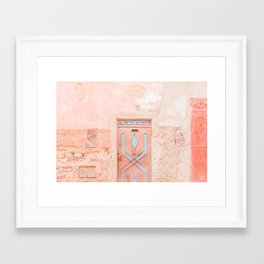 Marrakech Entryway Framed Art Print