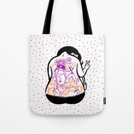 Monkey King Lady Tote Bag